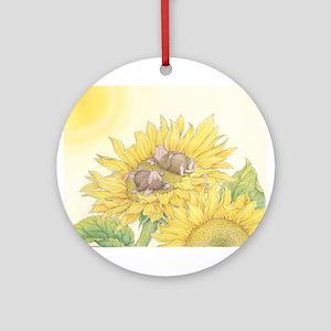 Ray of Sunshine Ornament (Round)