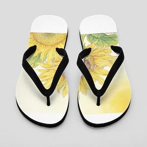 Ray of Sunshine Flip Flops