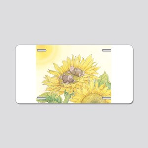Ray of Sunshine Aluminum License Plate