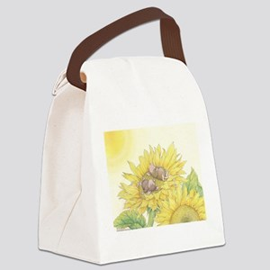 Ray of Sunshine Canvas Lunch Bag