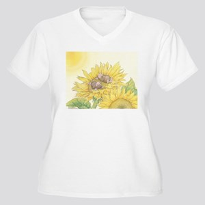 Ray of Sunshine Plus Size T-Shirt