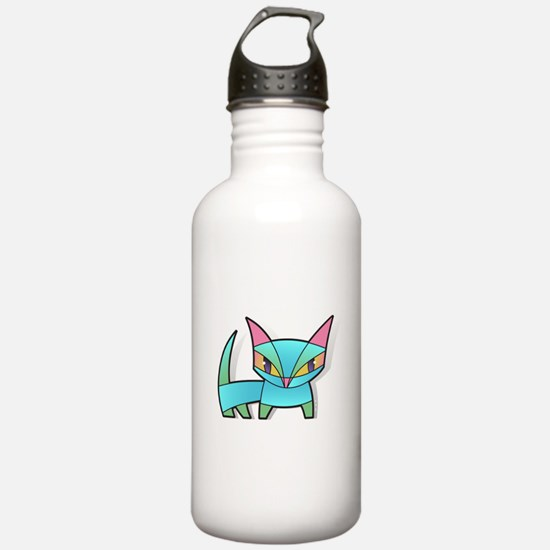 bonsai kitty Water Bottle