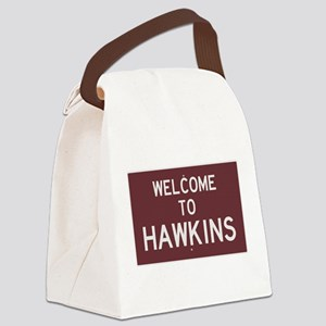 Welcome to Hawkins Canvas Lunch Bag