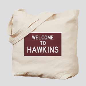 Welcome to Hawkins Tote Bag