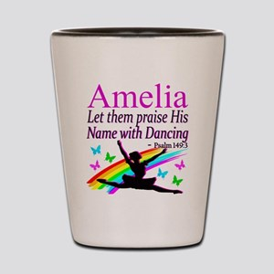 BEST DANCER Shot Glass