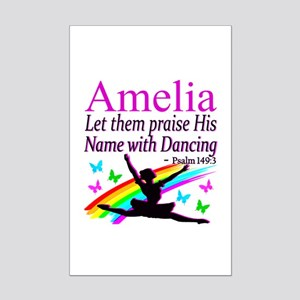 BEST DANCER Mini Poster Print