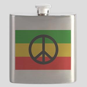 Peace Flag Flask