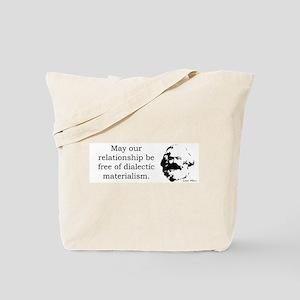 Karl Marx Relationship Humor Tote Bag