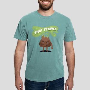 Emoji Poop That Stinks Mens Comfort Colors Shirt
