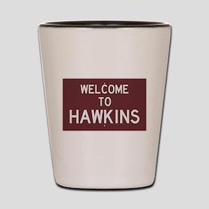 Welcome to Hawkins Shot Glass