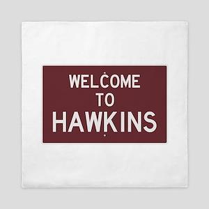 Welcome to Hawkins Queen Duvet