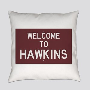 Welcome to Hawkins Everyday Pillow