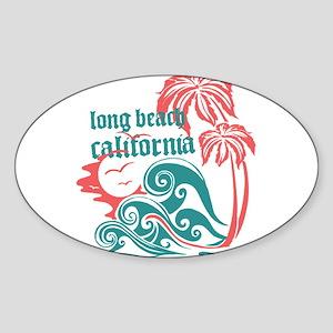 Wavefront Long Beach Sticker