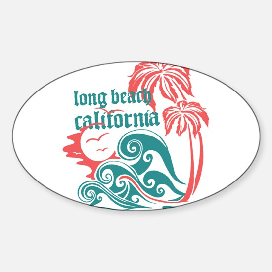 Wavefront Long Beach Decal
