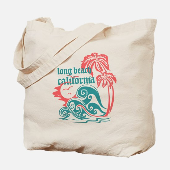 Wavefront Long Beach Tote Bag