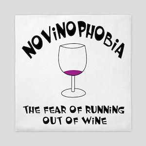 Novinophobia Wine Glass Queen Duvet
