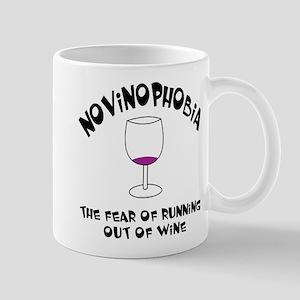Novinophobia Wine Glass 11 oz Ceramic Mug