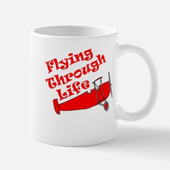 Flying Through Life Mug