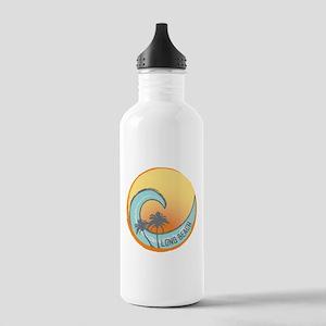 Long Beach Sunset Crest Water Bottle