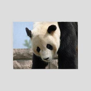 Panda20170702_by_JAMFoto.de 5'x7'Area Rug