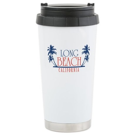 Long Beach Regal Print Travel Mug