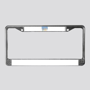 Silent Night... License Plate Frame