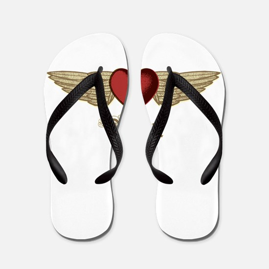 Valeria the Angel Flip Flops