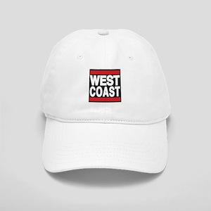 west coast red Baseball Cap