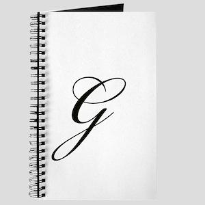 Bickham Script Monogram G Journal