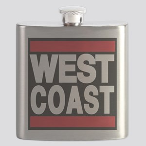 west coast red Flask