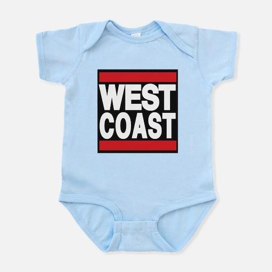 west coast red Body Suit
