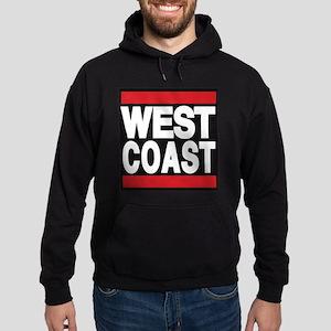 west coast red Hoodie