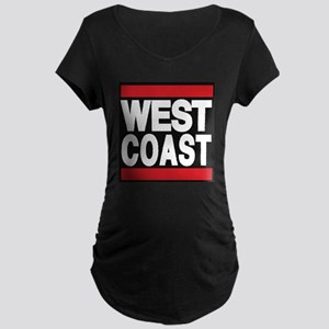 west coast red Maternity T-Shirt