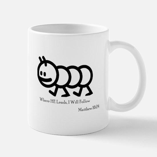 Where He Leads Mug
