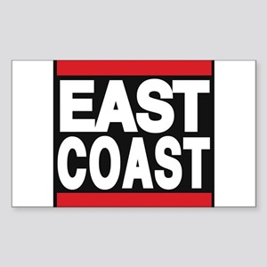 east coast red Sticker
