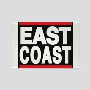 east coast red Rectangle Magnet