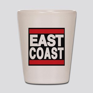 east coast red Shot Glass