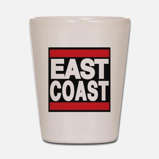 east coast red Shot Glass
