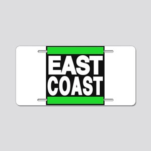 east coast green Aluminum License Plate