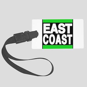 east coast green Luggage Tag