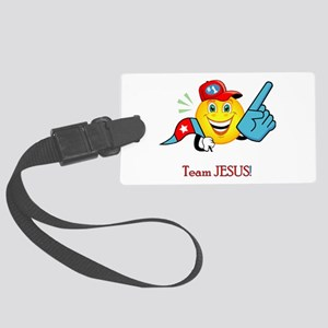Team Jesus Luggage Tag