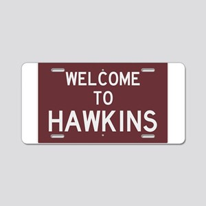 Welcome to Hawkins Aluminum License Plate
