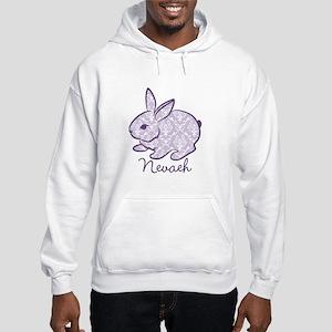 Purple chic bunny Hoodie