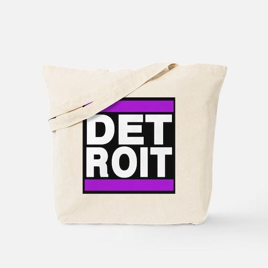 detroit purple Tote Bag
