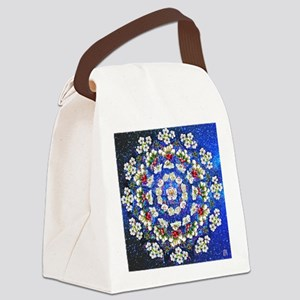 Hawthorne Rose Canvas Lunch Bag