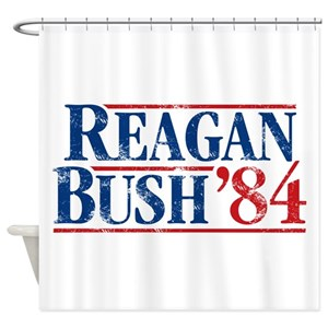 Reagan Bush Shower Curtains