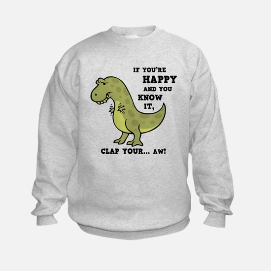 T-Rex Clap II Sweatshirt