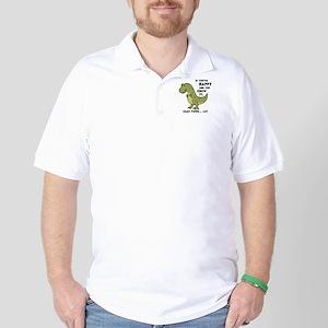 T-Rex Clap II Golf Shirt
