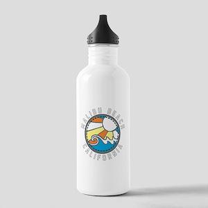 Malibu Wave Badge Water Bottle