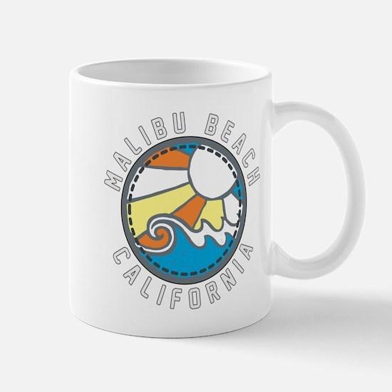 Malibu Wave Badge Mug